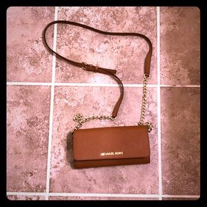 Michael Kors crossbody purse.